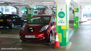 electric cars charging nissan leaf and hong kong electric cars charging station places
