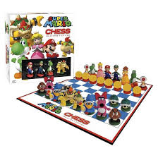 Barnes And Nobles Board Games Super Mario Chess Collector U0027s Edition Board Game Target