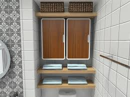 Bathroom Wall Mounted Shelves Diy Bathroom Storage Ideas Roomsketcher