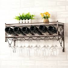 wine rack wine glass hanging rack under cabinet view in gallery
