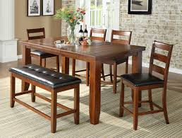 counter dining chairs loon peak bridlewood 6 piece counter height dining set u0026 reviews