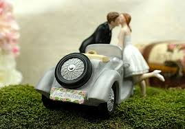 cool wedding cake toppers i ll u 4 car wedding cake topper wedding collectibles