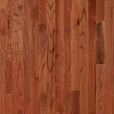 gunstock oak smooth high gloss solid hardwood 3 4in x 2 1 4in