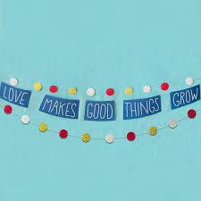 love makes good things grow baby shower theme hallmark ideas