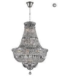 15 light chandelier empress crystal basket chandelier chrome smoke crystal 15
