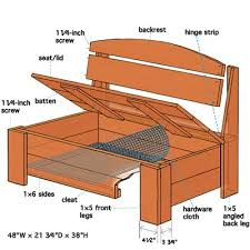 Wooden Deck Bench Plans Free by How To Build A Bench With Hidden Storage Extra Seating Decking