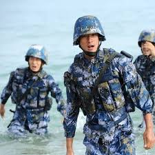 why do china u0027s marines wear blue battle dress uniforms updated