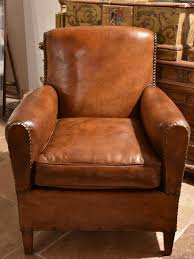 vintage french leather club chair u2013 chez pluie
