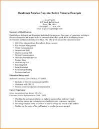 Resume For Customer Service Resume Examples For Customer Service Resume Template And