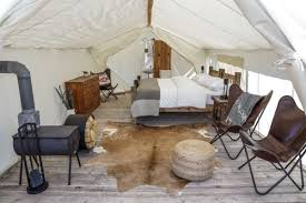 wall tent platform design glacier glamping montana luxury outdoor lodging u0026 accommodations