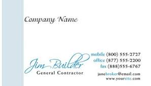 Construction Name Card Design This Business Card Is Designed For Builders Architects