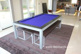 Dining Pool Table by Modern Pool Table In San Diego Dk Billiards Pool Table Sales