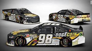Doge Car Meme - reddit dogecoin support nascar racer at talladega cnn