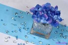 wholesale 2000pcs 4 5mm blue diamond wedding table scatter acrylic