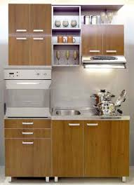 stainless steel kitchen base cabinets with chocolate wood cabinet