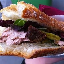 bloc de cuisine sandwich du bloc de foie gras picture of comptoir de la