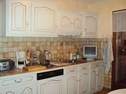repeindre la cuisine cuisine repeinte blanc ecru chinons et kolorons