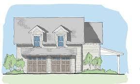 tidewater reach garage u2014 flatfish island designs u2014 coastal home plans