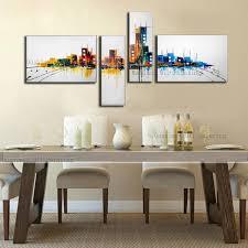 home decor group handmade modern oil painting hang paintings wall art abstract
