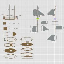 blueprints for ships in minecraft for printable coloring pages minecraft brig take 4 wip by coltcoyote on deviantart