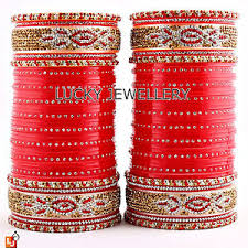 wedding chura ethnic indian bridal chura traditional punjabi wedding chuda