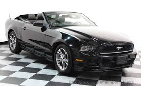 2014 ford mustang 2014 used ford mustang certified mustang v6 premium convertible at
