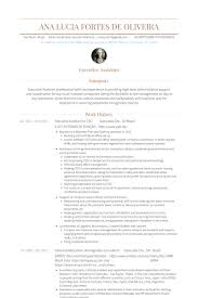 Senior Executive Assistant Resumes Samples by Senior Executive Resume Samples Visualcv Resume Samples Database