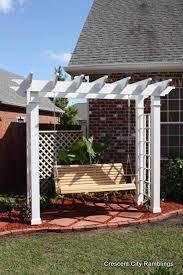pergola swing 25 beautifully inspiring diy backyard pergola designs for outdoor
