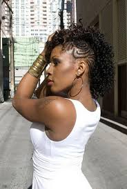 black hairstyles 2015 with braids to the side best 25 shaved mohawk hairstyles for black women ideas on