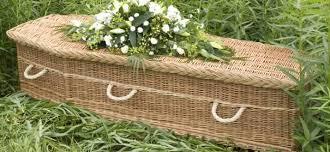 wicker casket elizabeth snell family coffins