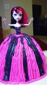 monster high birthday cake toy review youtube