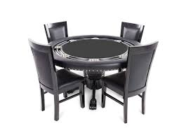 round poker table with dining top nighthawk porker table mahogany round poker table dining top black