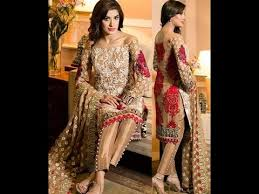 latest pakistani dresses new collection of dresses youtube