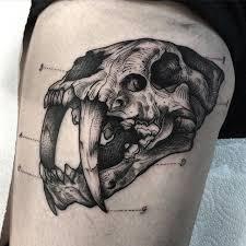 the 25 best cat skull tattoo ideas on pinterest cat skull