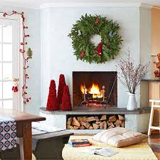 Christmas Decoration For A Fireplace by 40 Amazing Christmas Decor Ideas For Small Spaces Christmas