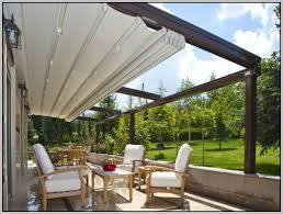 House Awnings Retractable Canada Triyae Com U003d Diy Backyard Awning Various Design Inspiration For
