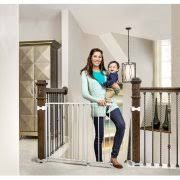 Baby Gate For Stairs With Banister Regalo Top Of Stairs Baby Gate 26
