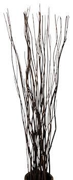 wavy willow stick bundle 20pcs in a bundle 40 high rustic