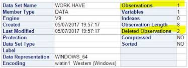 Delete From Table Sql Solved How To Delete Data In Table Sas Support Communities