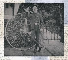 details about big wheel bicycle bike vintage antique home decor