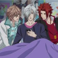 fuuto brothers conflict brothers conflict tsubaki fuuto yusuke anime pinterest