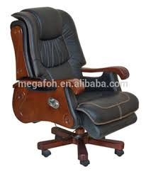 high end italian upholstered leather recliner office chair big