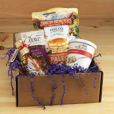 breakfast gift baskets gluten free breakfast gift box mildred s