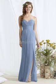 light blue long bridesmaid dresses dress images