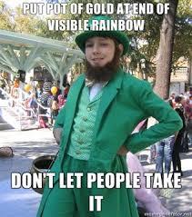 Funny St Patricks Day Meme - leprechaun meme