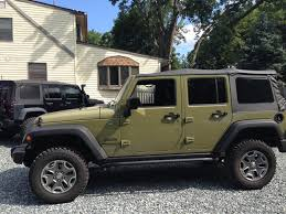 commando green jeep lifted aev 2 5 lift picture thread and ride results american expedition
