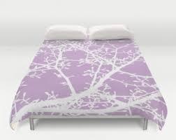 Duvet Cover Lavender Purple Duvet Cover Etsy