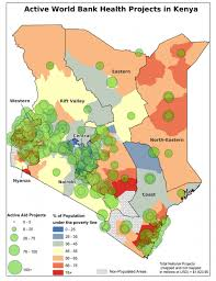 geographical map of kenya mapping for results
