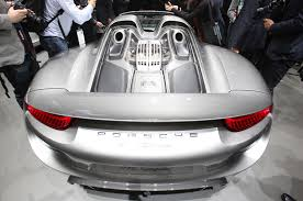 Porsche 918 Hybrid 2016 - 2015 porsche 918 spyder production details