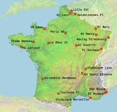 Lille France Map by France Ligue 2 Analysis Results Fixtures Tables And News